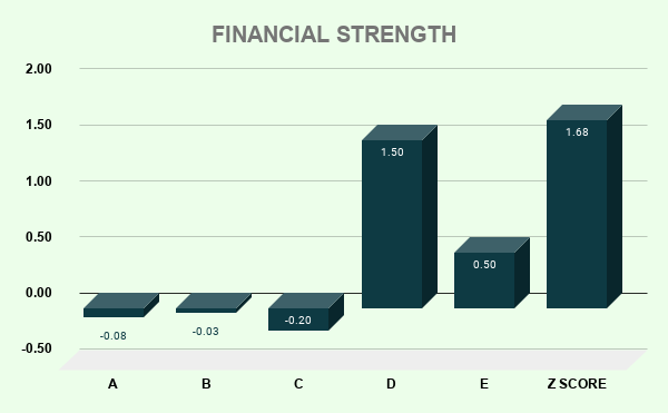 GDDY FINANCIAL STRENGTH