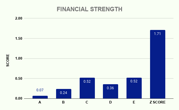 VIACA FINANCIAL STRENGTH