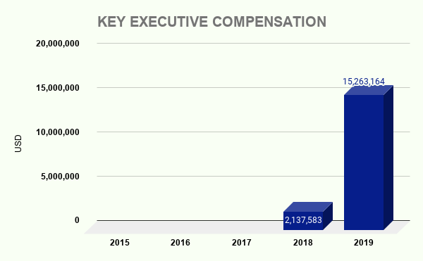 VIACA KEY EXECUTIVE COMPENSATION
